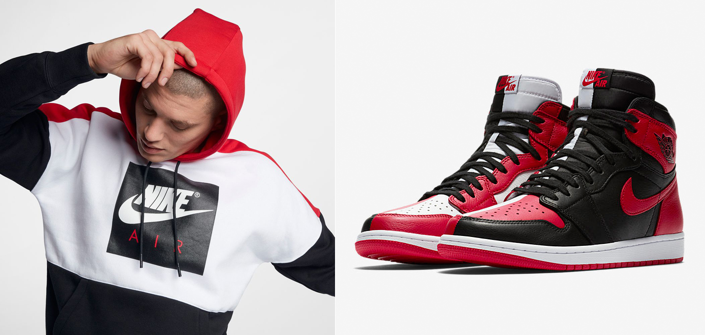 jordan-1-homage-to-home-hoodie-match