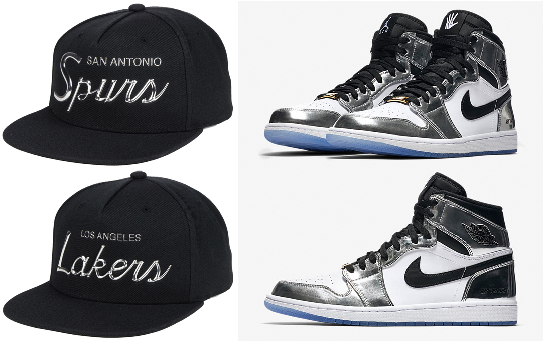 timeless design acaf6 cafa6 Jordan 1 Kawhi Leonard NBA Hats to Match | SneakerFits.com