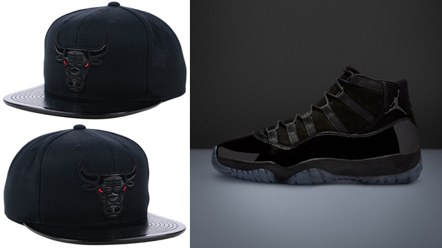jordan-11-cap-and-gown-bulls-cap