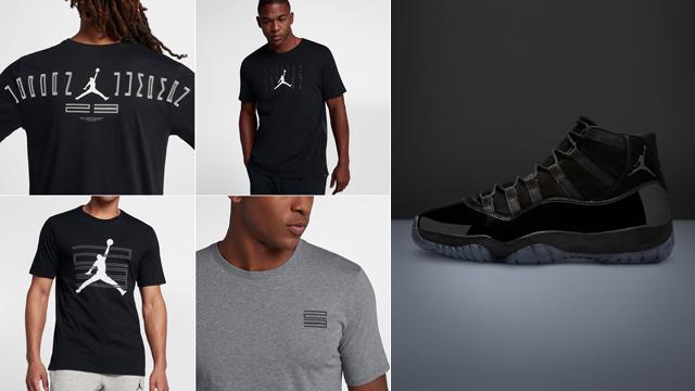 "de9256fa125 Jordan Retro 11 T-Shirts to Match the Air Jordan 11 ""Cap and Gown"""
