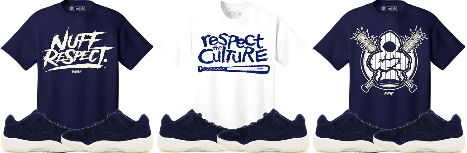1c3f0ae8907 Jordan 11 Low Jeter RE2PECT Clothing Match | SneakerFits.com