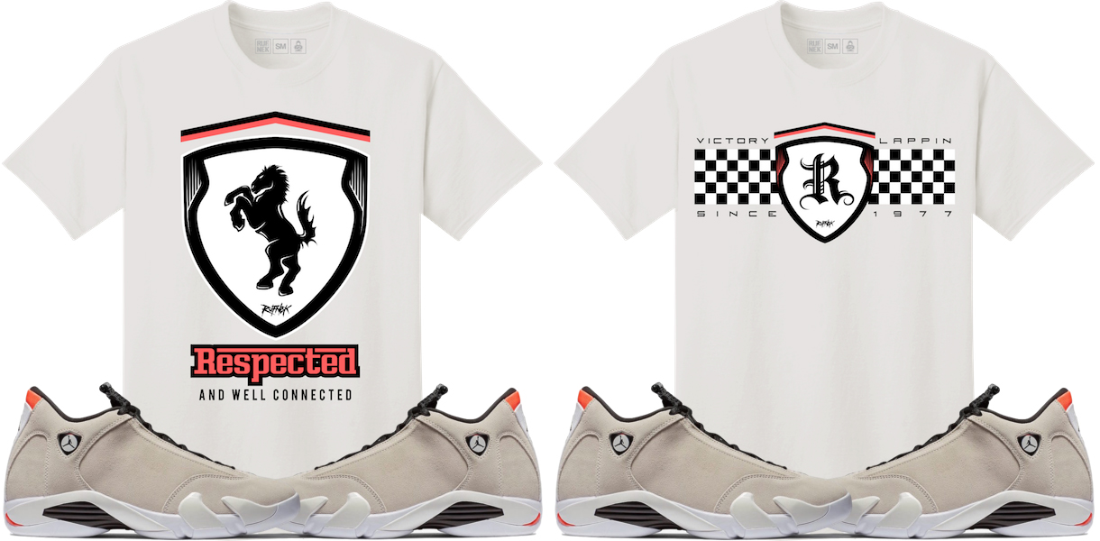 jordan-14-desert-sand-sneaker-tee-shirts
