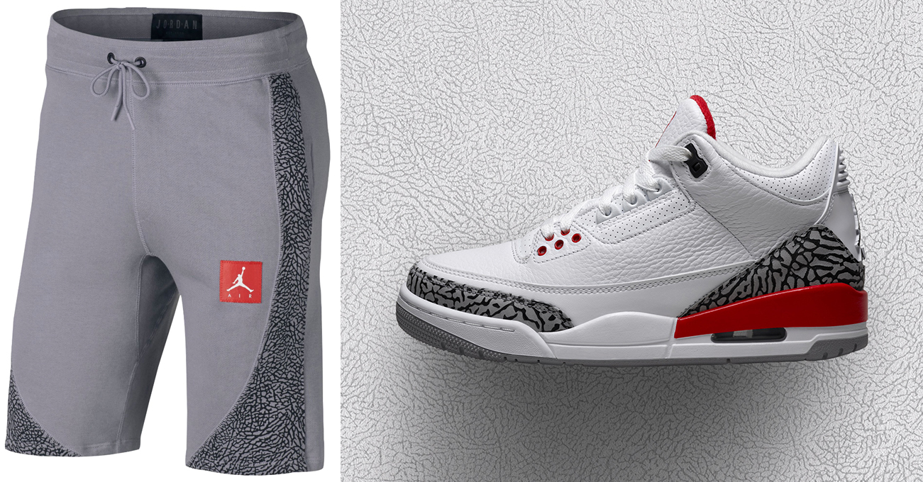 separation shoes 6c14d ae1cd Jordan 3 Katrina Hall of Fame Shorts Match | SneakerFits.com