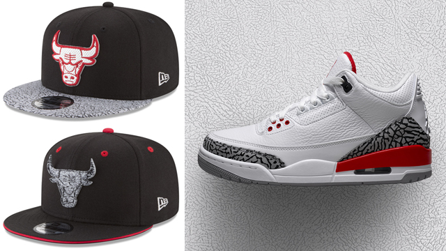 jordan-3-katrina-new-era-bulls-cap-match