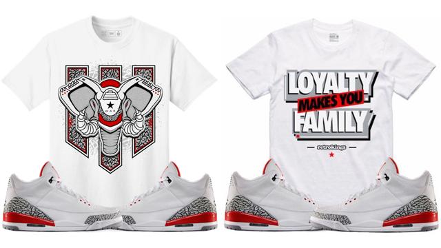 """6a1336cd561c8d Sneaker Tees to Match the Air Jordan 3 """"Katrina"""""""