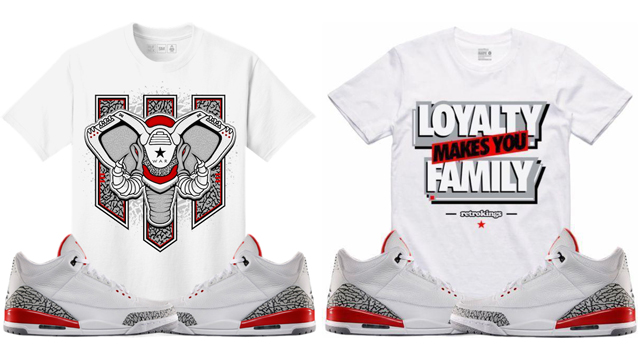 "a0e7d74c15a2fa Sneaker Tees to Match the Air Jordan 3 ""Katrina"""