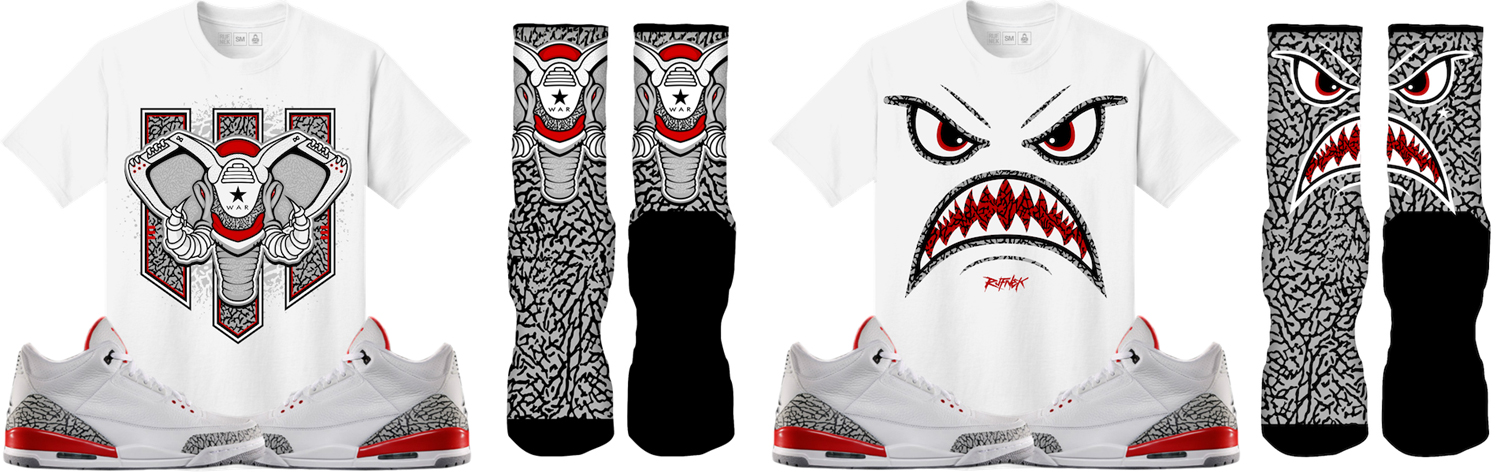 jordan-3-katrina-sneaker-tees-and-socks
