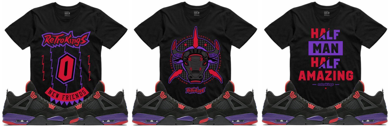 jordan-4-raptors-sneaker-tee-shirts