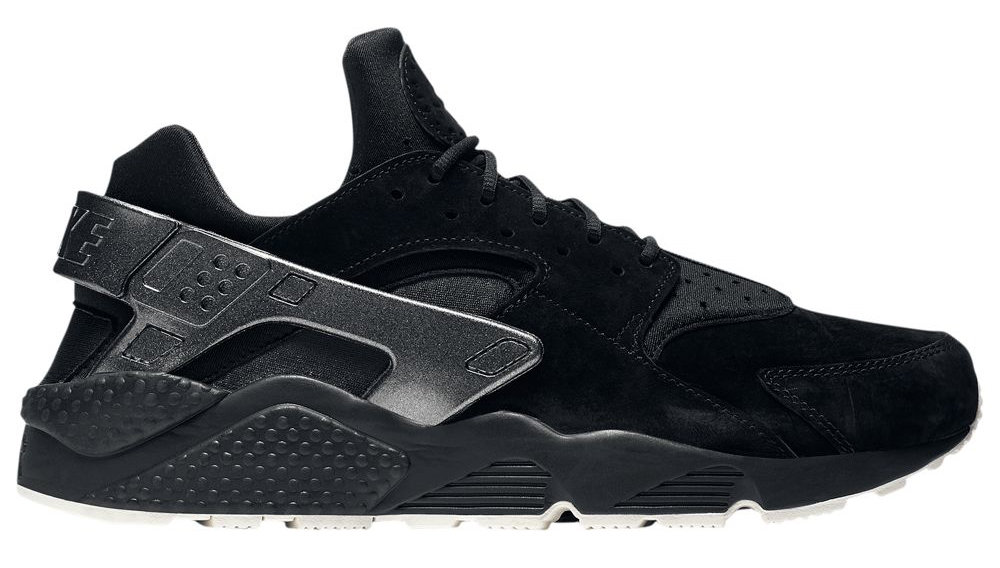 nike-air-huarache-premium-bone-black-metallic