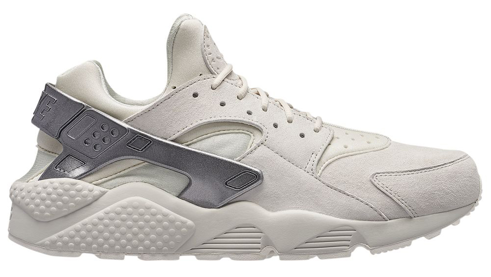 nike-air-huarache-premium-bone-metallic-silver
