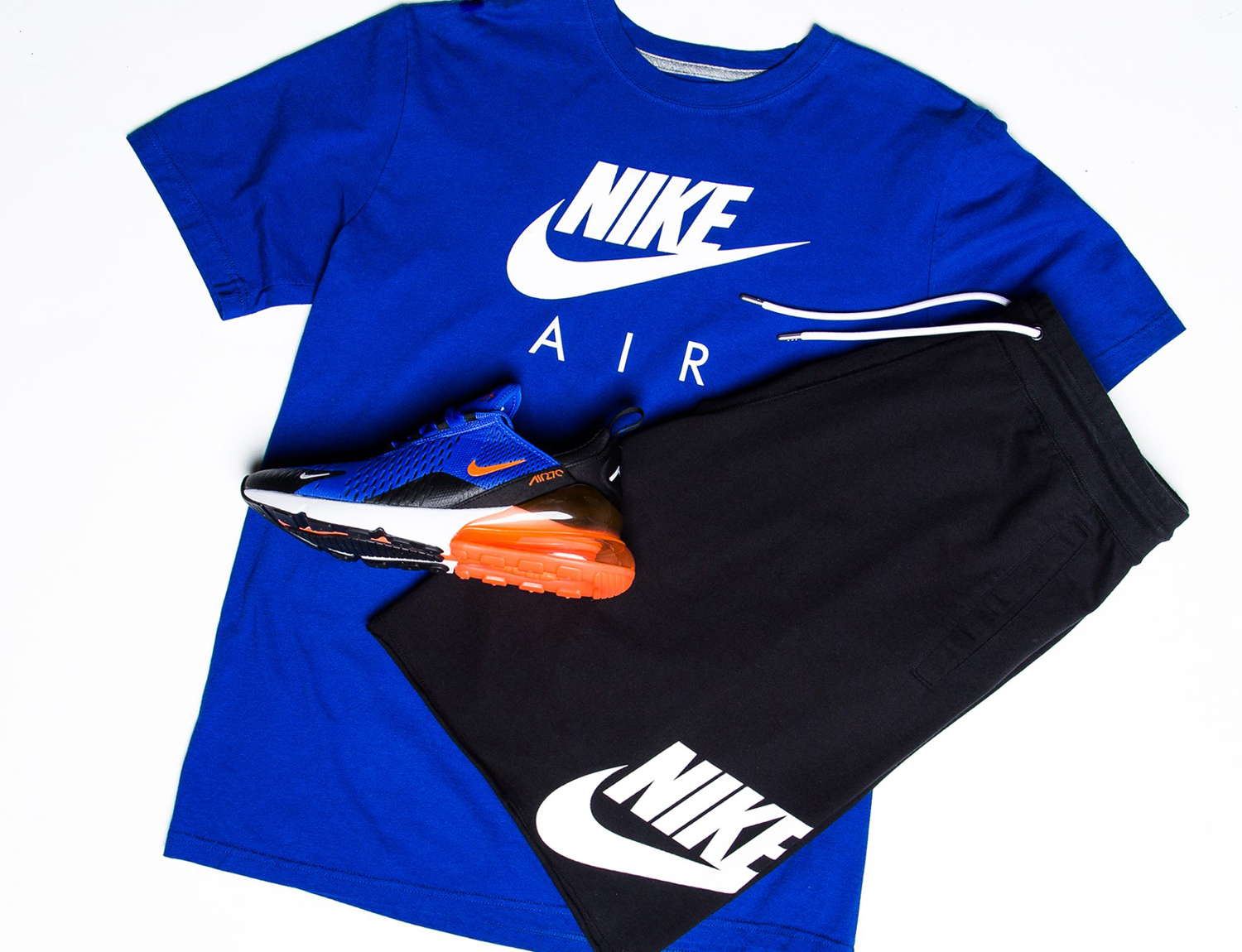 Nike Air Racer Blue Crimson Shoes Shirt Shorts Match ...
