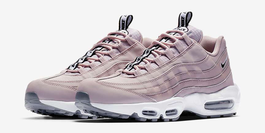 Nike Womens Nike Air Max 95 Rust PinkParticle Rose from Champs Sports | ShapeShop