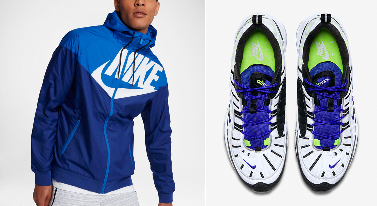 "the best attitude 76d96 ca33b Nike Air Max 98 ""Sprite"" x Nike Windrunner GX1 Jacket"