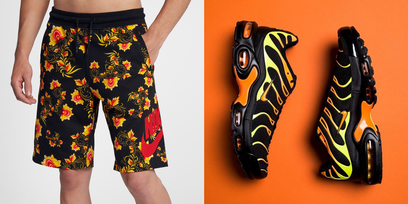 "1d5ddafcf Nike Air Max Plus ""Hi Viz"" x Nike Sportswear Russian Floral Print Collection"
