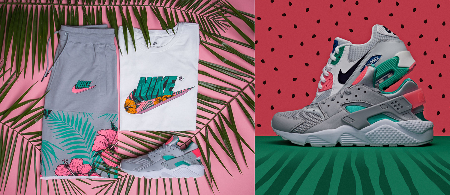 10aef5dc8172 Nike Air Watermelon Clothing and Hat Match
