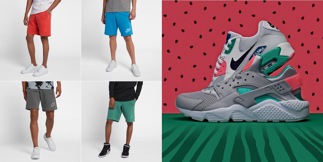 nike-air-max-watermelon-shorts-match
