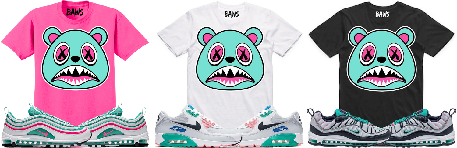 "BAWS Sneaker Tees to Match the Nike Air Max ""Watermelon   South Beach""  Sneakers fe448bd80"
