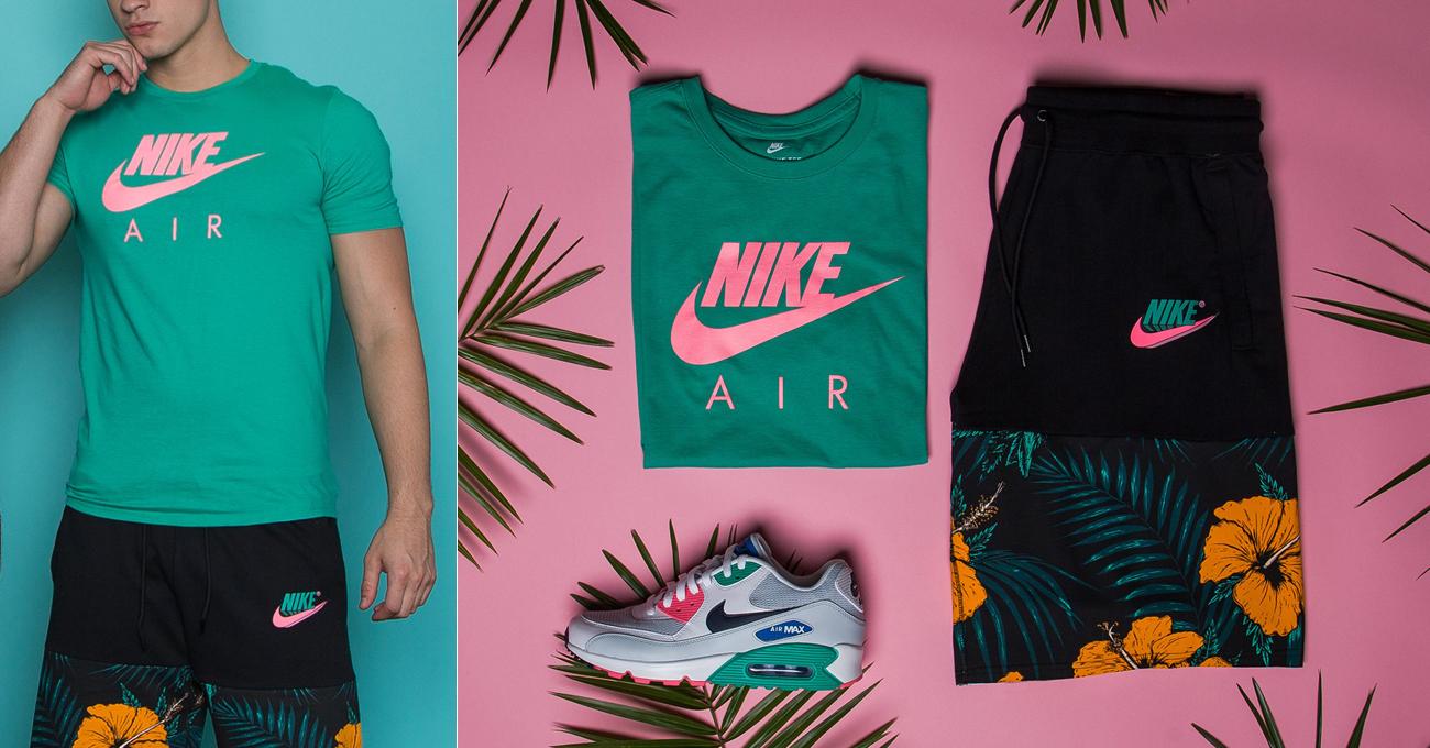 nike-air-watermelon-green-pink-shirt-match