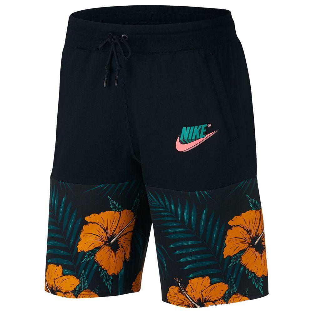 nike-air-watermelon-shorts-black-orange-green