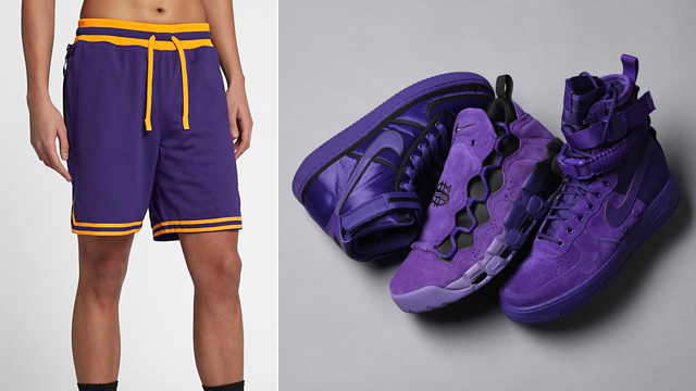 "39fa3cbf7b81 Nike DNA Double Mesh Shorts to Match the Nike Sportswear ""Court Purple""  Sneaker Collection"
