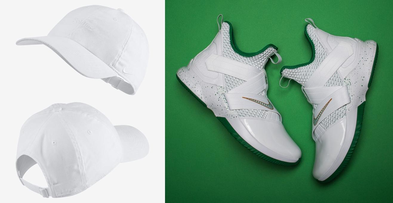 hot sale online b59a3 95e16 Nike LeBron Soldier 12 SVSM Hat Match | SneakerFits.com