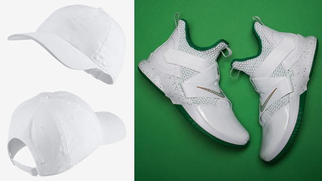 hot sale online 615cf 83f76 Nike LeBron Soldier 12 SVSM Hat Match | SneakerFits.com