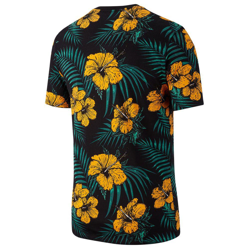 nike-south-beach-black-orange-flower-shirt-2
