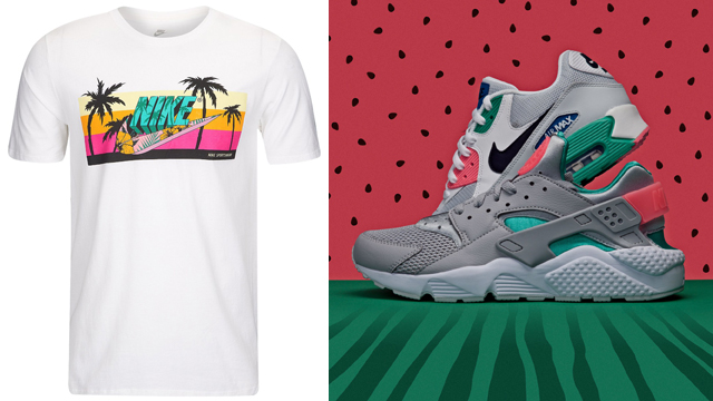 nike-south-beach-watermelon-tee-shorts-shoes