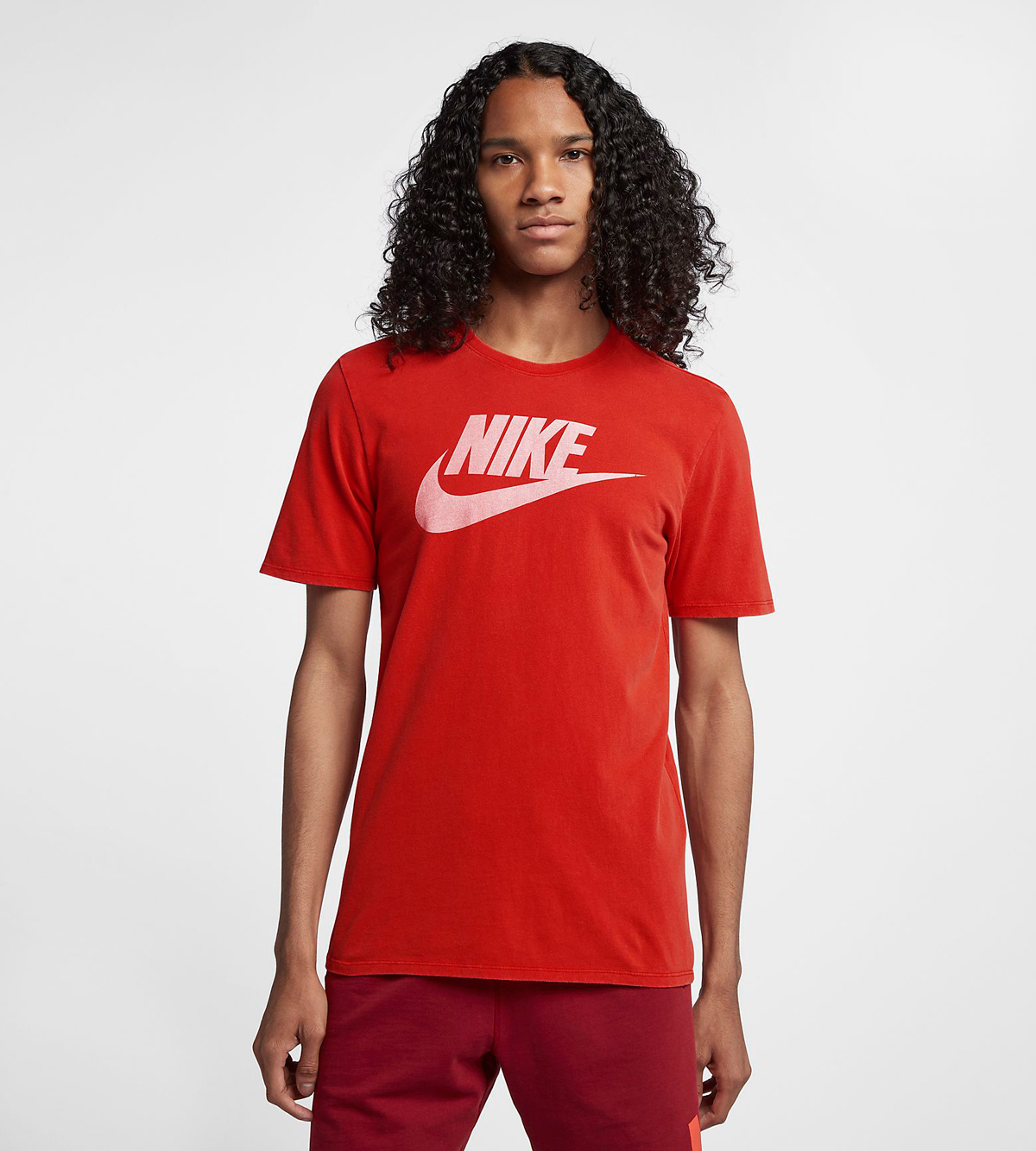 nike-sportswear-habanero-red-shirt