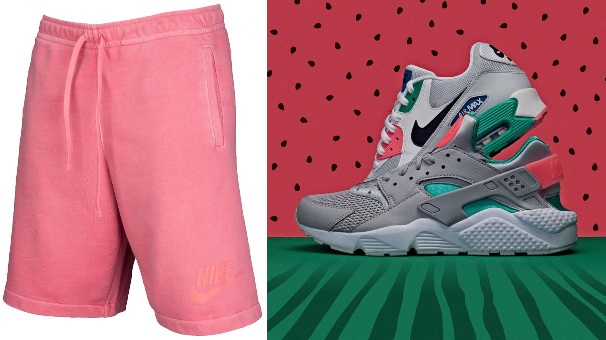 nike-watermelon-pink-shorts