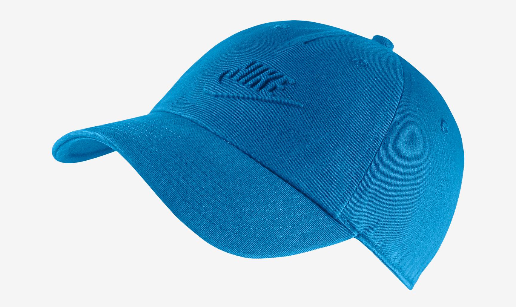 nike watermelon south beach hat match blue 1