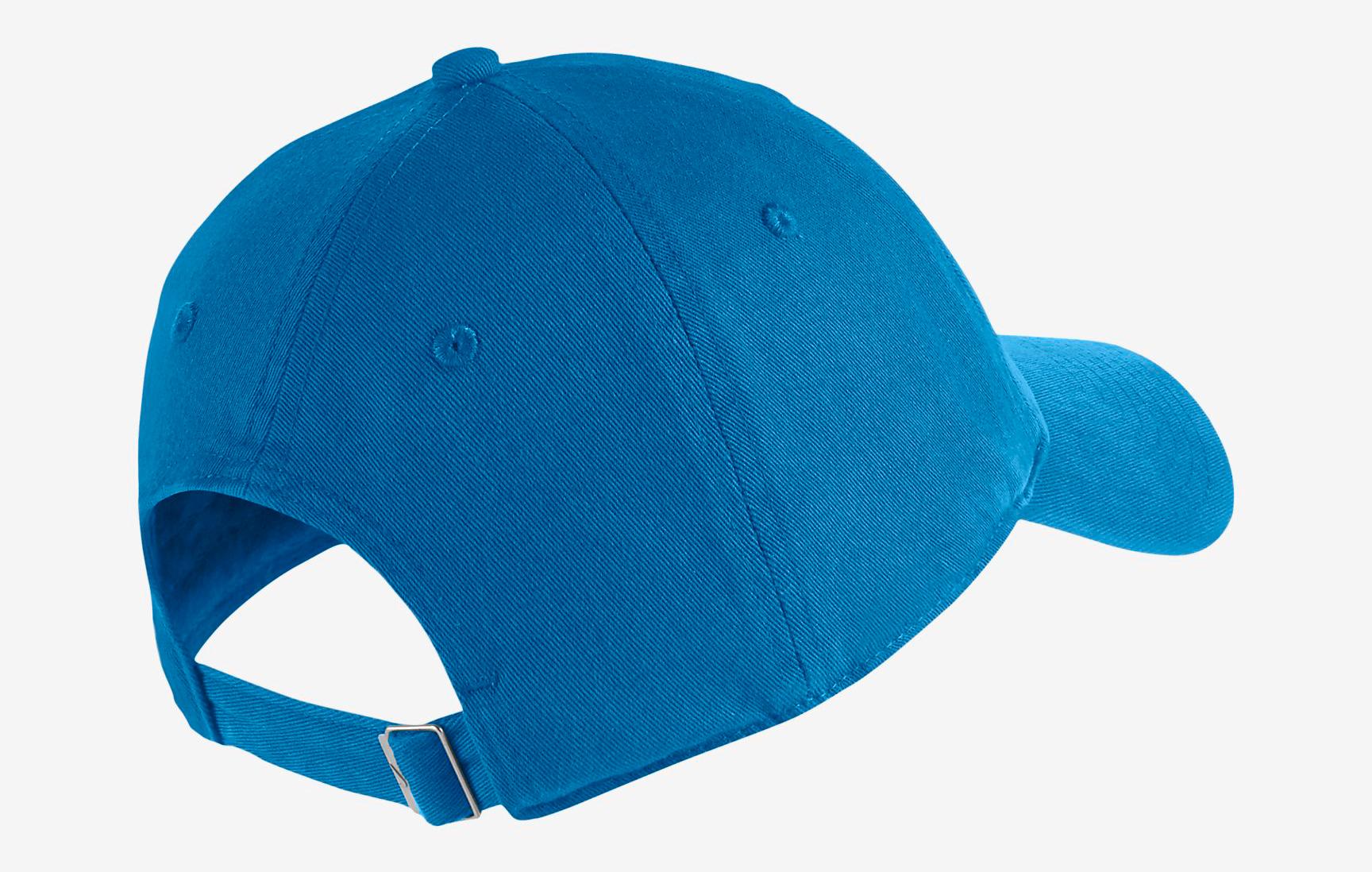 nike watermelon south beach hat match blue 2