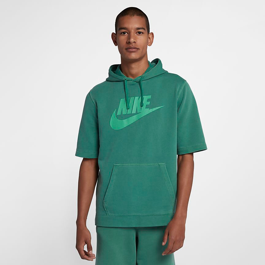 2973cacd60 nike-watermelon-south-beach-hoodie-match-green-1. Nike Sportswear Wash  Hoodie