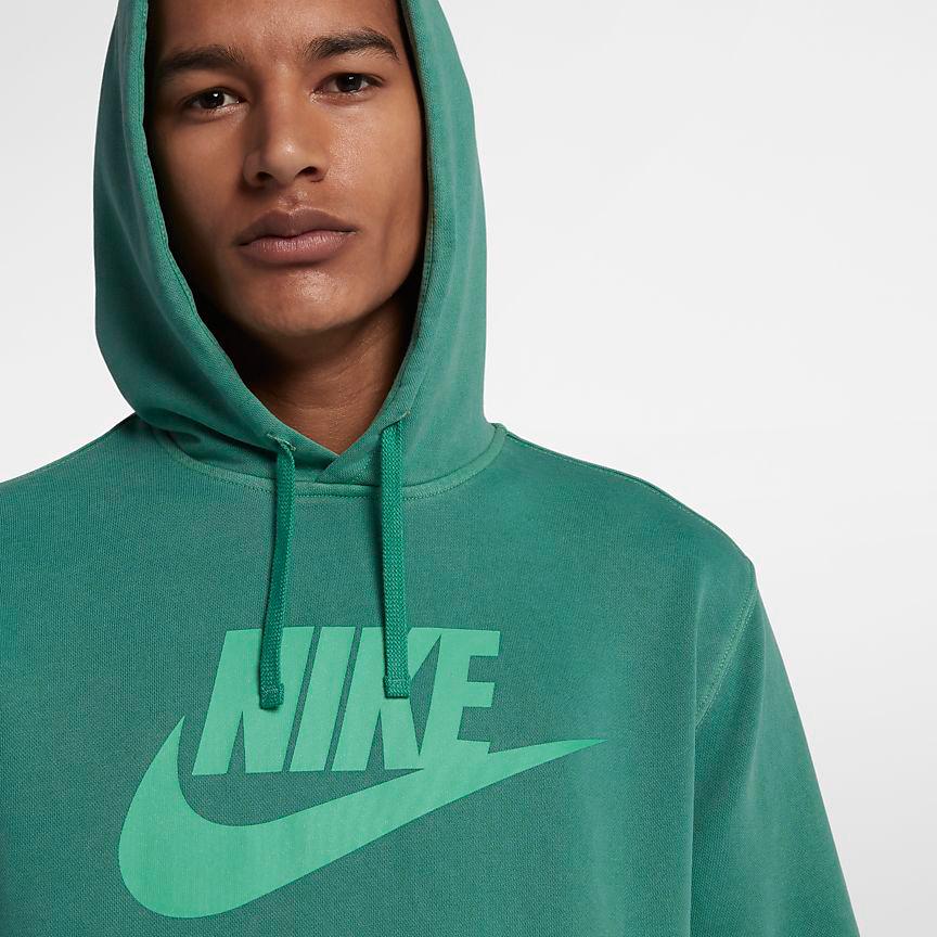nike-watermelon-south-beach-hoodie-match-green-2
