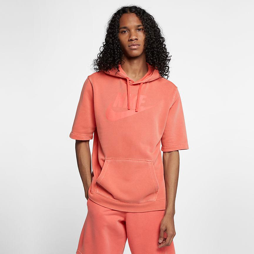 nike-watermelon-south-beach-hoodie-match-orange-2