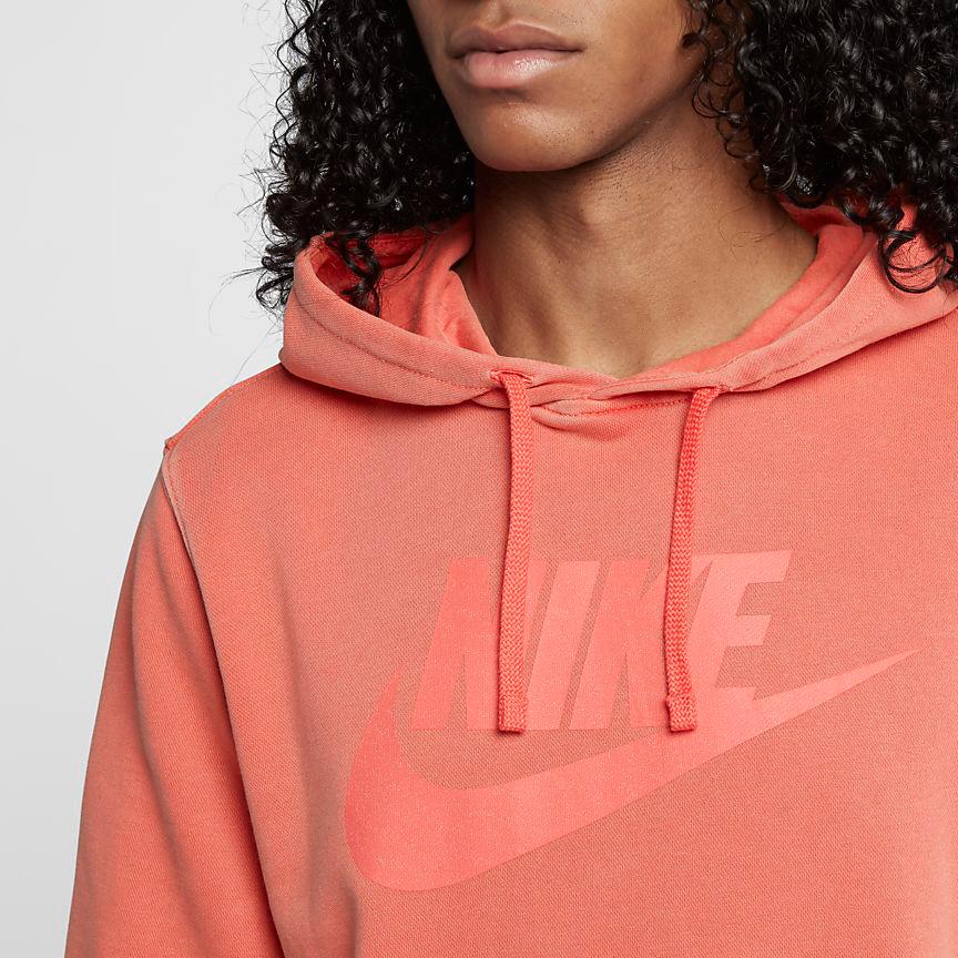 nike-watermelon-south-beach-hoodie-match-orange-3