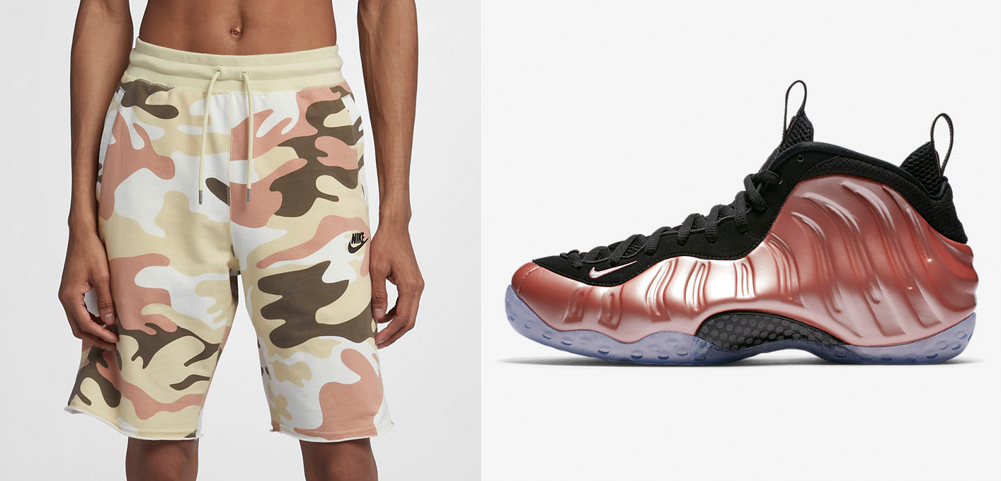 rust-pink-foamposites-nike-shorts-match