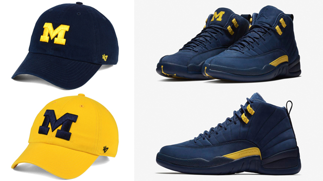 air-jordan-12-michigan-dad-hats