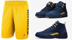 air-jordan-12-michigan-shorts