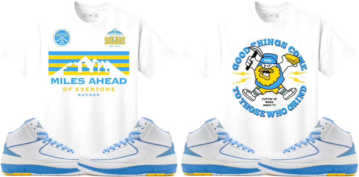 the best attitude 511ca 5f85b Air Jordan 2 Melo Sneaker Tee Shirts by Original RUFNEK ...