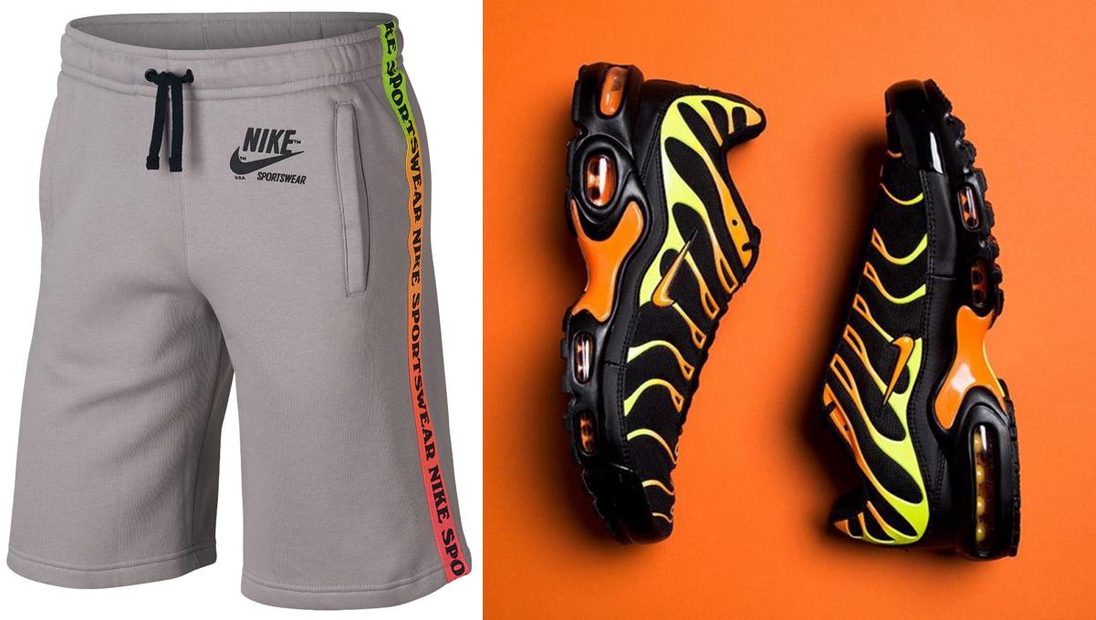 hi-viz-nike-air-max-plus-shorts-match