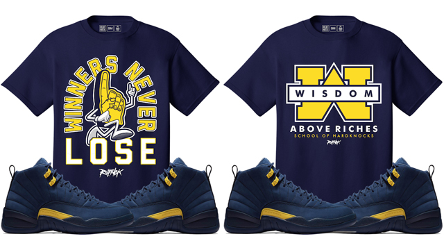 jordan-12-michigan-sneaker-tees-rufnek