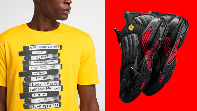jordan-14-last-shot-casettes-tee-shirt