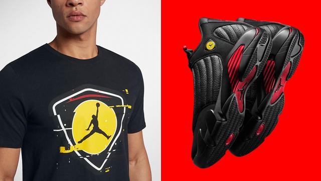 """f53781037077 Air Jordan 14 """"Last Shot"""" x Jordan Retro 14 Last Shot T-Shirt"""