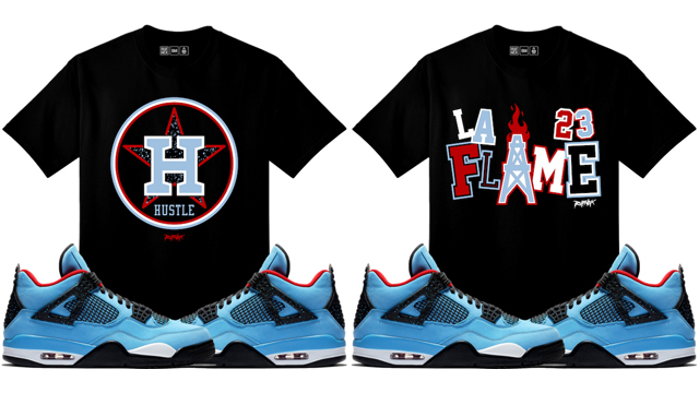 "quality design 85af8 fd821 Original RUFNEK Sneaker Tees to Match the Travis Scott x Air Jordan 4  ""Cactus Jack ..."