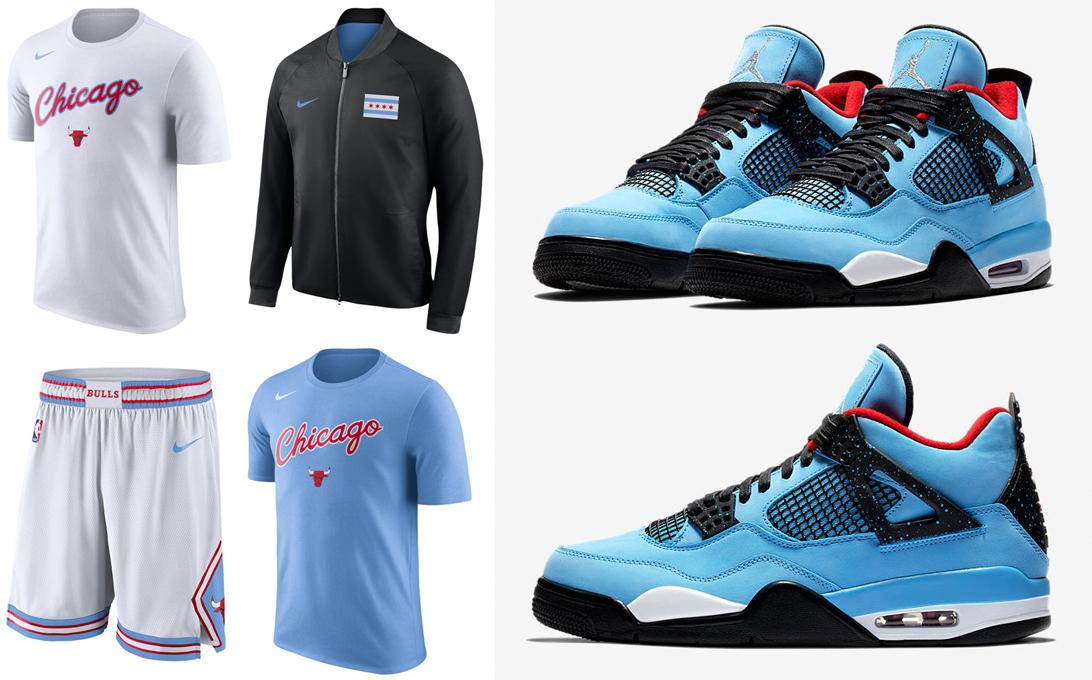 f9466c48b0fcb Travis Scott Jordan 4 Cactus Jack Clothing Match | SneakerFits.com