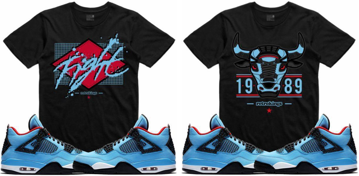4e1a8b23e14 Travis Scott Jordan 4 Cactus Jack Shirts to Match | SneakerFits.com