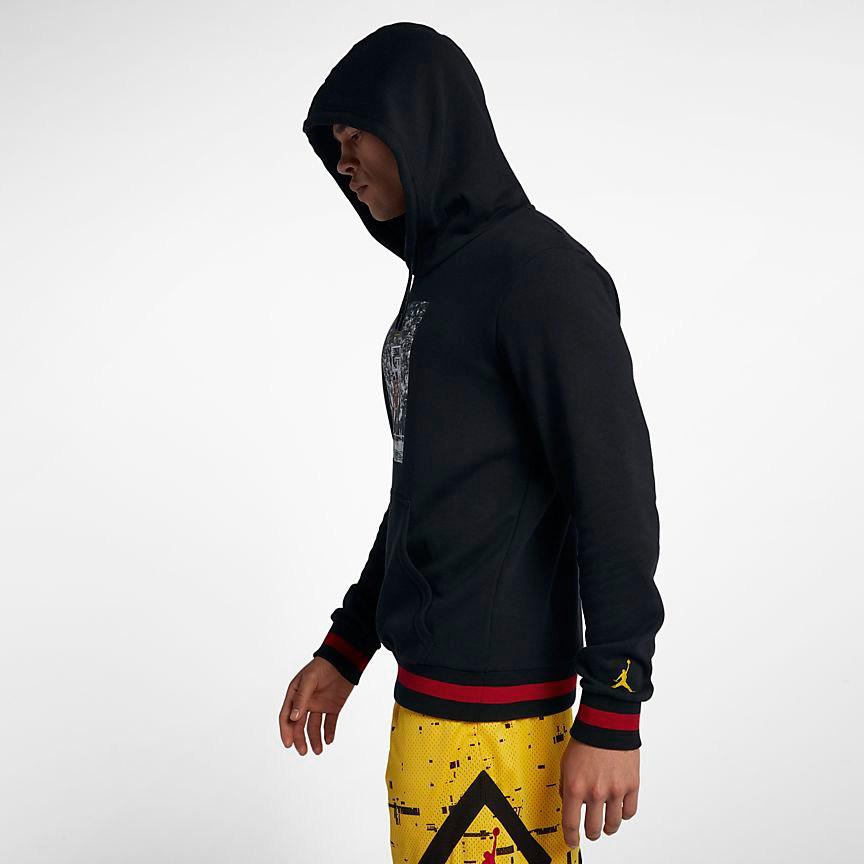 air jordan 14 last shot hoodie sneakerfitscom