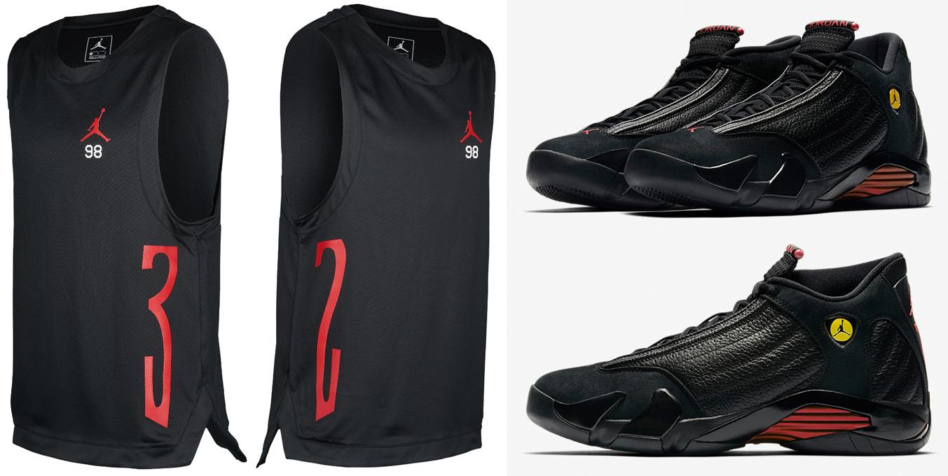 last-shot-air-jordan-14-jersey