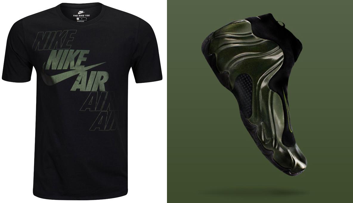 Nike Air Flightposite Legion Green